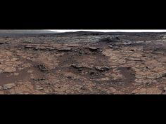 This mosaic of images from Curiosity's Mast Camera (Mastcam) shows geological members of the Yellowknife Bay formation.