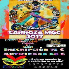 Carnaval Carroza MGC 2017, en Las Palmas de Gran Canaria
