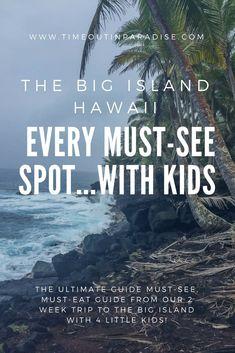 How We Spent 2 Weeks on the Big Island Hawaii…with Kids! How We Spent 2 Weeks on the Big Island Hawaii…with Kids! Hawaii Vacation, Hawaii Travel, Travel Usa, Travel Tips, Beach Vacations, Family Vacations, Travel Ideas, Couples Vacation, Beach Travel