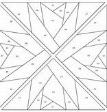 Image result for Paper Pieced Hunters Star Pattern
