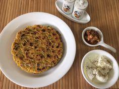 Sindhi Food Mazaa: BESANI / BESANA JI KOKI / SINDHI FLATBREAD WITH GRAM FLOUR