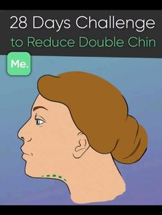 28 Days Challenge to Reduce Double Chin Double Chin Exercises, Workout For Double Chin, Skinny Face, Reduce Face Fat, Reduce Double Chin, Face Fat Loss, Lose Arm Fat, Lose Weight, Weight Loss