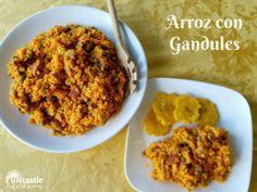 #SaboreaTuCultura con la receta by @funtasticliving of Arroz con Gandules!