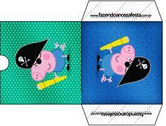 Envelope CD DVD George Pig Pirata:
