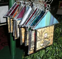 Stained Glass House Ornaments | Flickr - Photo Sharing!