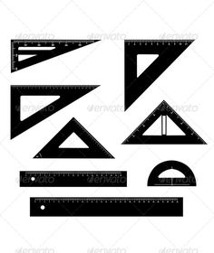 Technical Drawing Equipment  #GraphicRiver