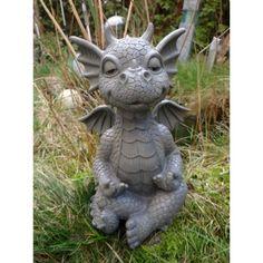Ars-Bavaria couple de dragons qui s'embrassent, figurine pour décoration de jardin, fantaisie amour