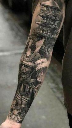 c2cf6e6984333 japanese tattoos small #Japanesetattoos | Tattoo : Ink & Steel | Pinterest  | Tattoos, Samurai tattoo and Japanese sleeve tattoos