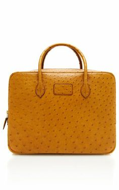 Hermes Cognac Ostrich Eiffel by Heritage Auctions Special Collections - Moda Operandi