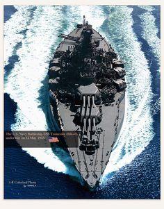 USS Tennessee BB-43
