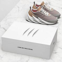 Behind The Scenes By hypedarchive Sneakers Box, Custom Sneakers, Leather Sneakers, Sneakers Nike, Air Jordan, Yeezy, Shoe Box Design, Adidas Originals, Shark Shoes
