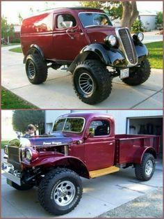 Old Dodge Trucks, Old Pickup Trucks, Hot Rod Trucks, 4x4 Trucks, Diesel Trucks, Custom Trucks, Cool Trucks, Lifted Trucks, Classic Chevy Trucks