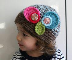 Crochet hat pattern crochet baby hat pattern Vintage inspired baby beanie crochet baby hat pattern #crochetpattern #crochet