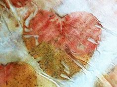 I Heart You..with natural eco dyes