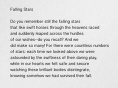 falling stars by rainer maria rilke ❤️