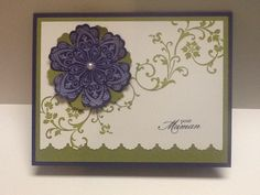 Mixed bunch stampin up with element of style