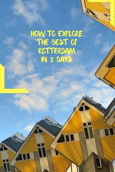 What's obligatory and what's cool to see and do in the not so touristic Rotterdam? Hope you can spare a day or two because it's worth it! Here's an itinerary!