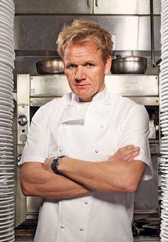 gordon ramsay - um celebrity chef que já ganhou 10 estrelas Michelin e por isso é como que um Cristiano Ronaldo da cozinha. Um exemplo a seguir.