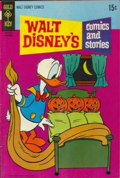 Walt Disney - Commics And Stories - Halloween - Donald Duck - Jack-o-lanterns