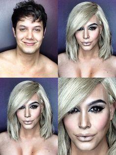 Филиппинский визажист перевоплотился в звезд с помощью макияжа