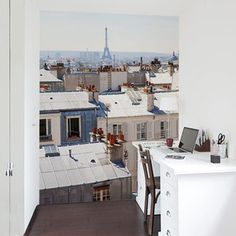 Paris In August Wallpaper M, 160€, now featured on Fab.