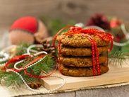 Рождественское ореховое печенье