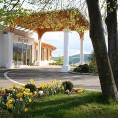 Eingang zum RETTER Seminar Hotel Restaurant #retter #hotelretter #seminarhotelretter