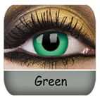 Green Coloured Contacts :) $33.99 a Pair