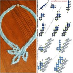 Necklace from Anna #Seed #Bead #Tutorials