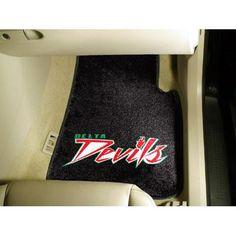 Mississippi Valley State Delta Devils NCAA Car Floor Mats (2 Front)