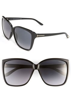 I need these this summer!   Tom Ford Oversized Sunglasses available at #Nordstrom