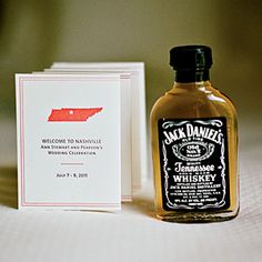 Simply Elegant Nashville Wedding | Wedding Favors | SouthernLiving.com