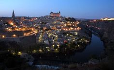 Toledo, Spain. One hour southwest of Madrid. GO.