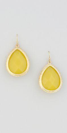 2 Color Sided Teardrop Acryclic Stone #Earrings.  #beadsandrockz #jewelry #accessories #fashion www.beadsandrockz.com