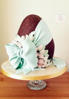 Vintage Easter - Cake by The Snowdrop Cakery