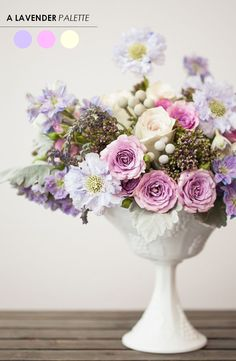 10 Color Inspiring Centerpieces - For Weddings   Parties