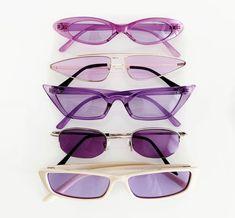 trendy sunglasses breathoflavender February 27 2019 at Baby Sunglasses, Cat Eye Sunglasses, Sunglasses Women, Vintage Sunglasses, Lavender Aesthetic, Purple Aesthetic, Lunette Style, Cool Glasses, Fashion Eye Glasses