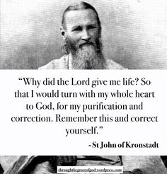 Wisdom of St John of Kronstadt