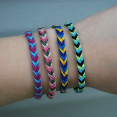 DIY: fastest friendship bracelet ever -- Duh! How did I not think of this?!?!?