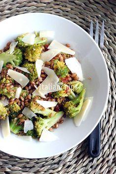 Insalata di farro e broccoli