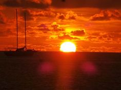 Sunset sailboat Photo by Dean Howlett -- National Geographic Your Shot