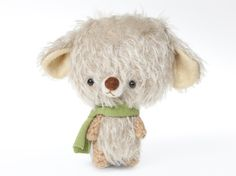 Teddy bear plush toy by knittingdreams on etsy