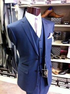 Wedding Suits, Groomsmen, Suit Jacket, Breast, Jackets, Blue, Fashion, Down Jackets, Moda