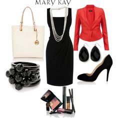 """More Red Jacket Styling"" by uhnah on Polyvore"