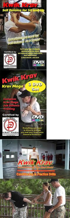 DVDs Videos and Books 73991: Senior Krav Maga 10 Disk Set , Complete Self Defense Training For 50 And Up Dvd S -> BUY IT NOW ONLY: $89.95 on eBay!