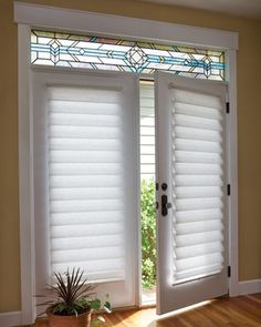 Classic Blinds & Shutters Design Center provides a large selection of french door blinds, shades and shutters, as well as patio door window treatments. Serving Alpharetta, GA and surrounding areas. Blinds For French Doors, French Door Windows, French Door Window Treatments, French Doors, Door Blinds, Patio Door Coverings, Classic Blinds, Sliding Glass Door, French Door Curtains