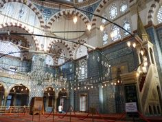 Rustem Pasha Mosque in Istanbul, Turkey