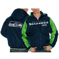 Women's Seattle Seahawks Sideline Puffer Jacket, Size: L, Sea Team ...
