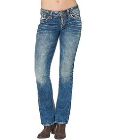 Silver Jeans Women's Plus Size Aiko Rise Skinny Jean, Mid Wash ...