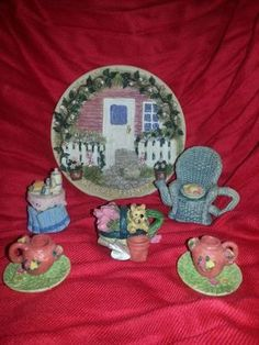 Mini Tea Set-WELCOME FRIENDS. Buy TWO Sets and save $5 on TOTAL!!!